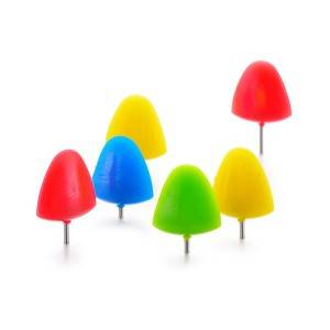 Peak Shape Push Pins