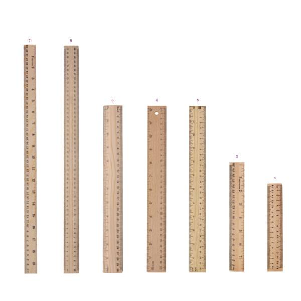 High Quality for Paper Clips Seller - Wooden Flat Rulers – Aiven