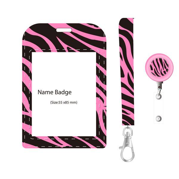 Factory Free sample Factory Binder Clips - Name Badge Set – Aiven