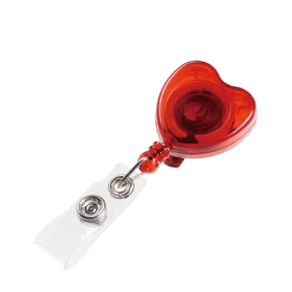 Quality Inspection for Massage Necklace - Heart Retractable ID Card Reel with PVC Strip – Aiven