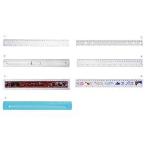 High Quality Vendor Letter Clips - Flat Rulers in OPP Bag – Aiven