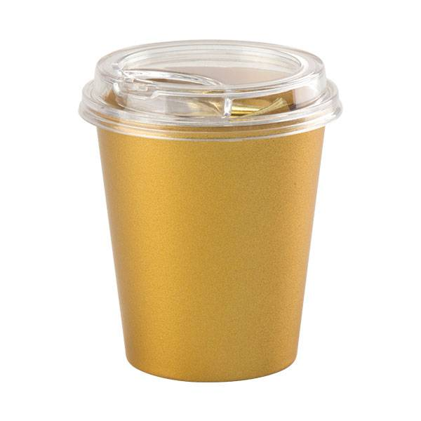Wholesale Price Metal Clips China - Mini Coffee Cup Golden Imitation Set – Aiven