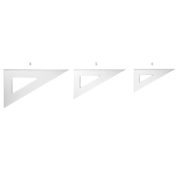 factory customized DOUBLE CLIPS Modern - Triangle Ruler – Aiven