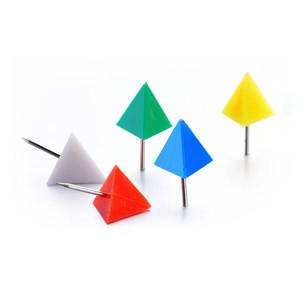Professional Design Fancy Binder Clip Vendor - Triangle Push Pins – Aiven