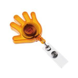 Palm Retractable ID Card Reel with PVC Strip
