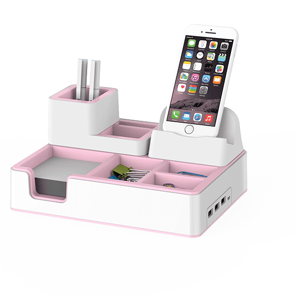 Big discounting Vendor Office Accessory Kit - Wireless Charging Desktop Organizer – Aiven