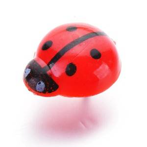 factory customized Thumbtacks Manufacturer - Ladybug Resin Pins – Aiven