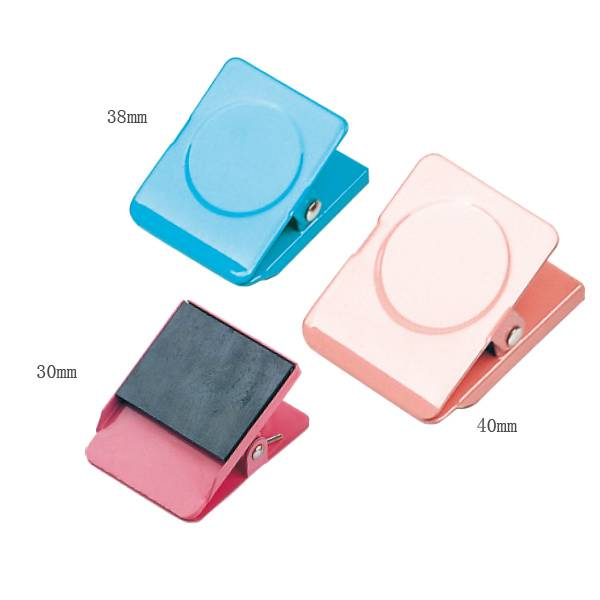Discount Price Supplier Spring Clips - Color Magnetic Clips – Aiven