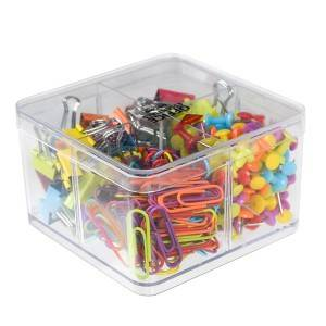 100% Original Factory Colorful Assorted Sizes Metal Office Paper Clips