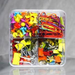 Newly Arrival Colorful Metal Binder Clips 15mm Notes Letter Paper Clip Office Supplies Color Random Office Binding Products Dhl Free Shipping