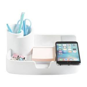 Paperroll Wireless Charging Desktop Organizer