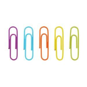 2019 New Style Custom Different Shape Metal Steel Paper Clip With Diy Logo Pattern