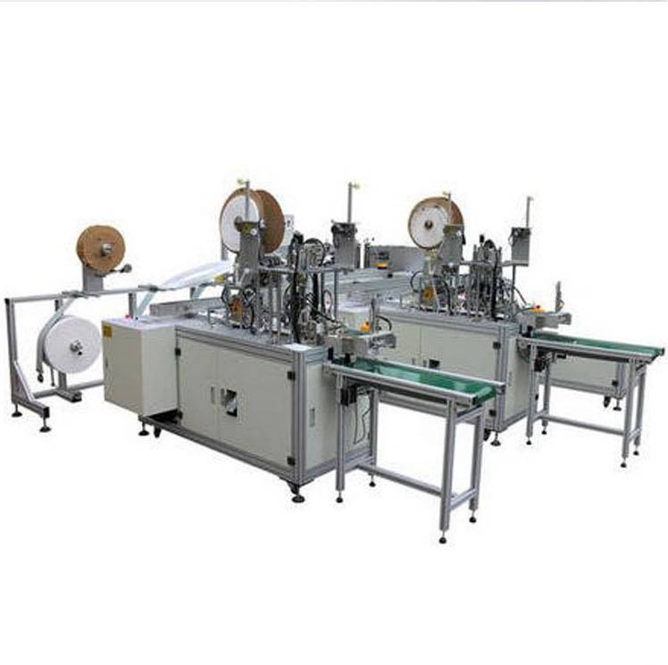 Hot Sale, 3PLY Mask Machine, Folding KN95 FFP2 Mask Machine, One Week Delivery!!