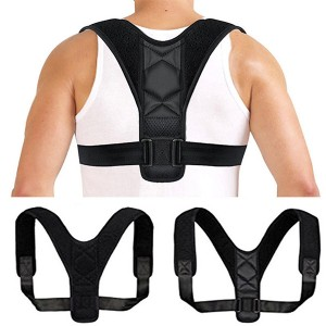 China wholesale Disposable Drape Sheet - Posture Corrector for Women and Men  Neck Pain Relief  Adjustable Upper Back Brace for Clavicle Support – Akso
