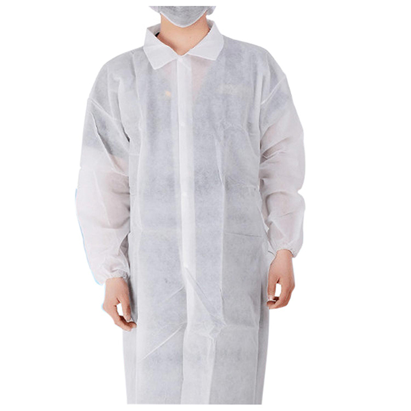 Cheap PriceList for Slimming Belt - Cleaing Disposable Lab Coats Multilayer Spunbond, Knitted Collar and Cuffs, Full-length Lab Gown, XXL – Akso Featured Image