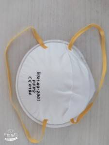 FFP2 anti dust Particulate Respirator NO VALVE /VALVE cup Mask with CE certificate