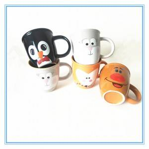 China Factory Directly Provide High Quality Stoneware Cute Gift Cups Ceramic Mugs