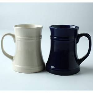 Eco-friendly New Design ceramic creative cup beer mug
