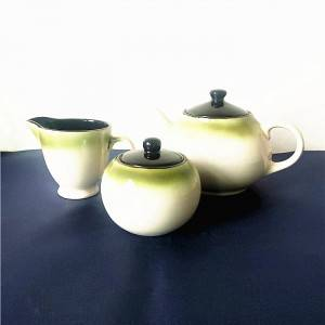 Good Price Glaze Tea Pot  Ceramic Stoneware Tea Pot Sets