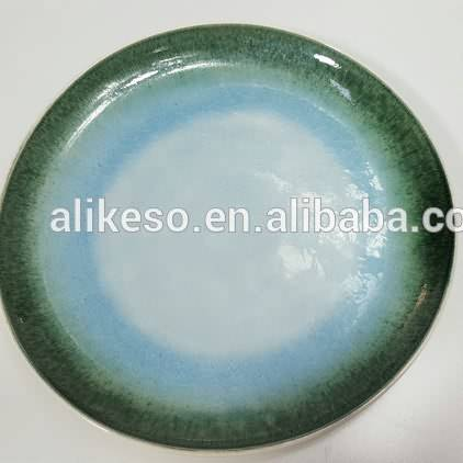 Cheap Bulk Stoneware Round Ceramic Dinner Plate for Home Hotel Wholesale from China factory