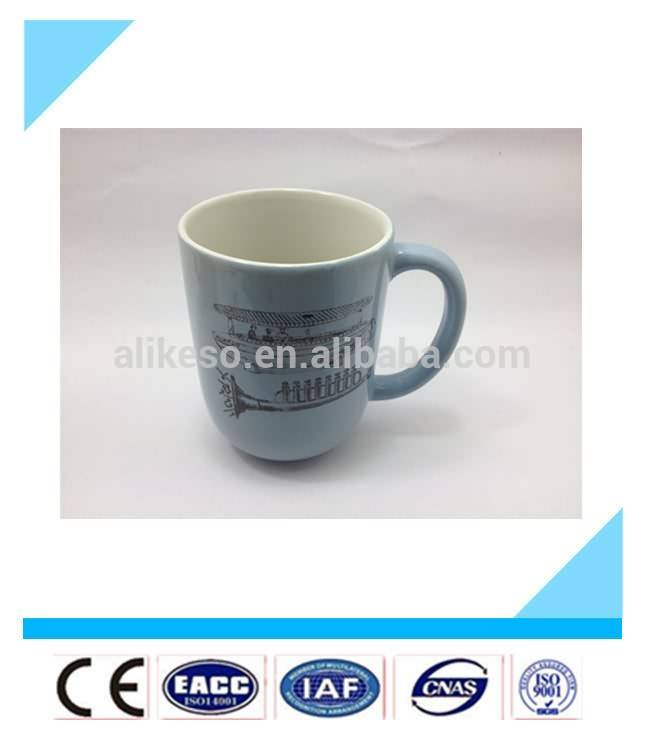 2015 hot sale huge ceramic tourist souvenir mug