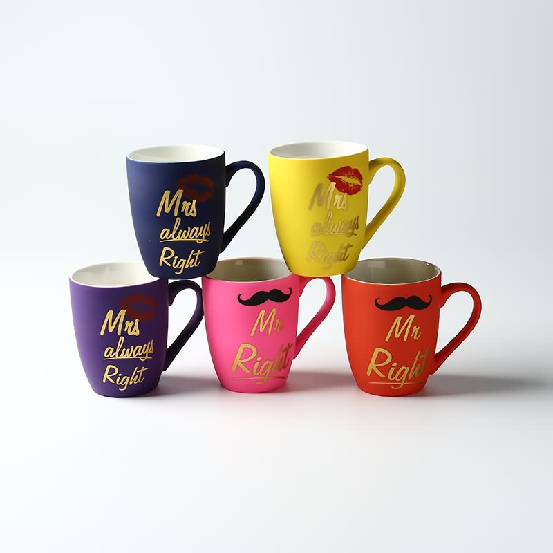Wholesale high quality soft touch glazed ceramic coffee mug Featured Image