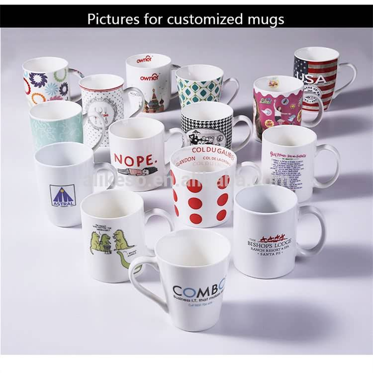 Custom Printed Coffee Mugs Ceramic for OEM order