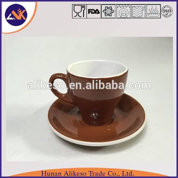 China factory supply high quality and cheap bulk stoneware ceramic coffe mug with plate