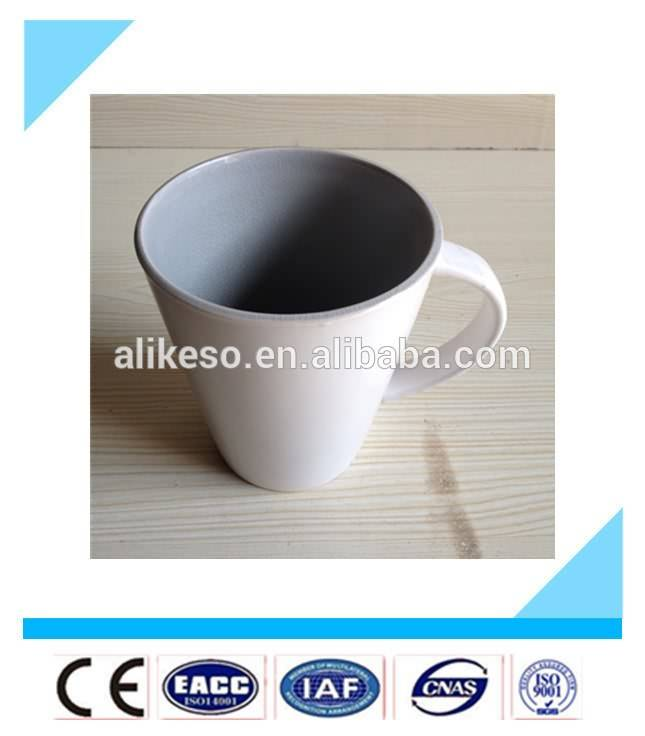 Wholesale bulk stock white color ceramic coffee tea mugs with handle