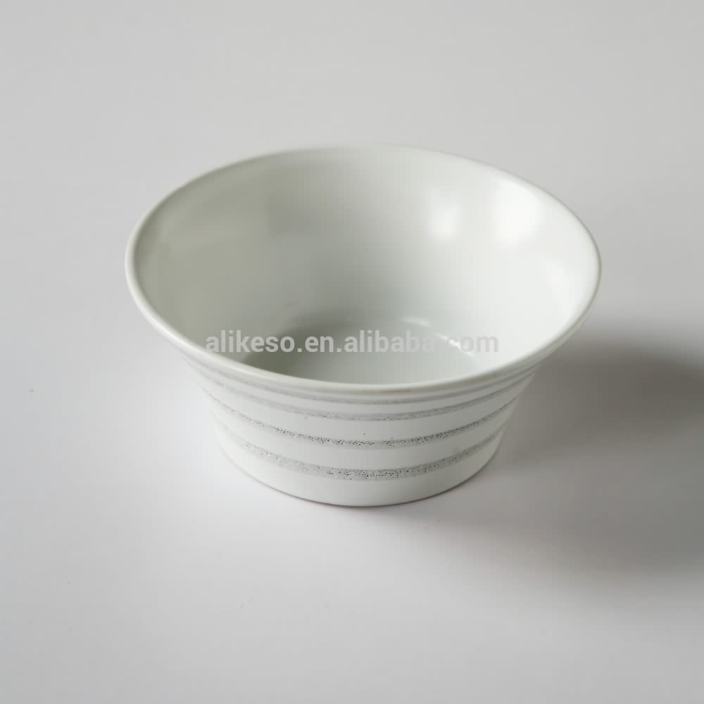 new design stoneware dinner set with hand-painted crop circles design