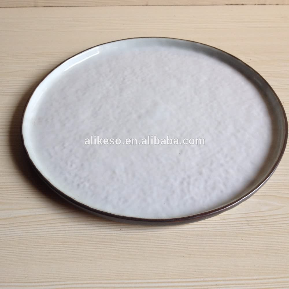 11 inch round cheap bulk blank white plates for restaurant wholesaler from China manufacturer
