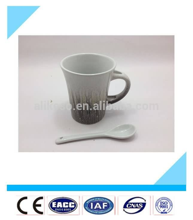 wholesale cup design handle coffee spoon,coffee mug spoon in handle