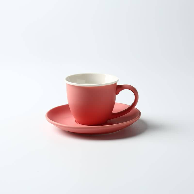 Small Capacity White Porcelain Espresso Coffee Cups Creative Concentrated Shop Cafe Tea Sets