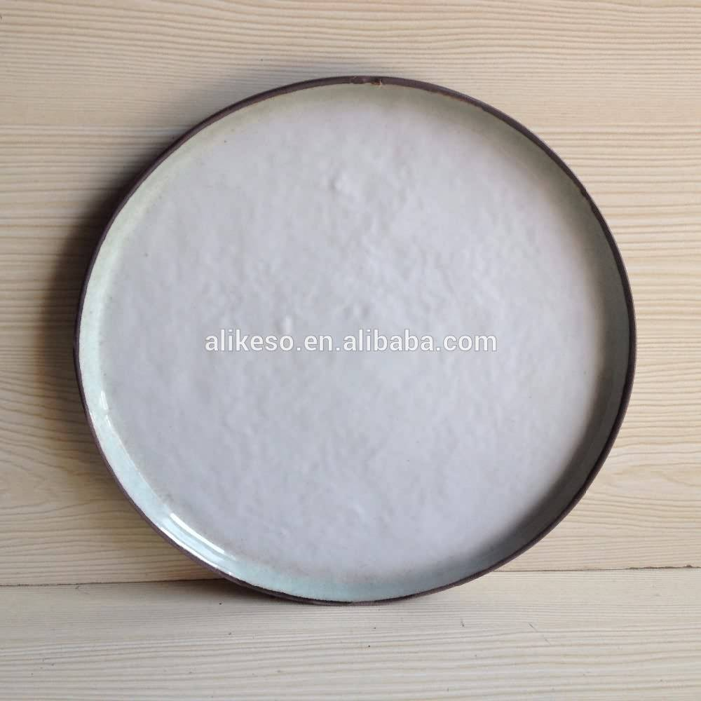 2016 high quality and fast delivery 8.5 inch ceramic dinner plates made in China Hunan