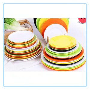 Colorful Ceramic Stoneware Dinnerware Set/Stoneware Plate