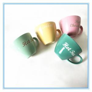 Ceramic Material And Stoneware Ceramic Cups Sublimation Coffee Mugs