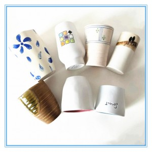 Ceramic Mugs Of Different Shape and Size/ Stoneware Mug Without handle