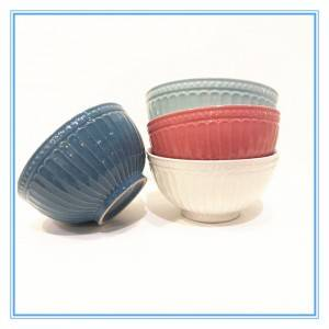 Colorful Glaze Bowl/Stoneware Bowls