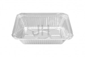 2 14 Lb. Oblong Foil Container RE1080