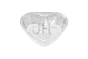 factory low price Aluminium Foil Container For Baking Cake - Heart Foil Container HT520 – Jiahua
