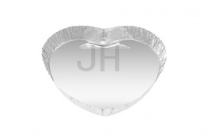 Factory directly supply Container Aluminium - Heart Foil Container HT70 – Jiahua