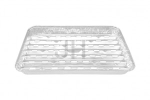 One of Hottest for Foil Food Containers - Aluminum Barbecue Tray BBQ1990R – Jiahua