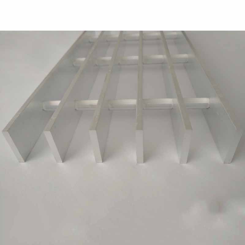 Short Lead Time for Sunscreen Aluminium Louver - Factory Cheap Hot Mild Steel Flat Bar Grating With Angle Frame – Tongda