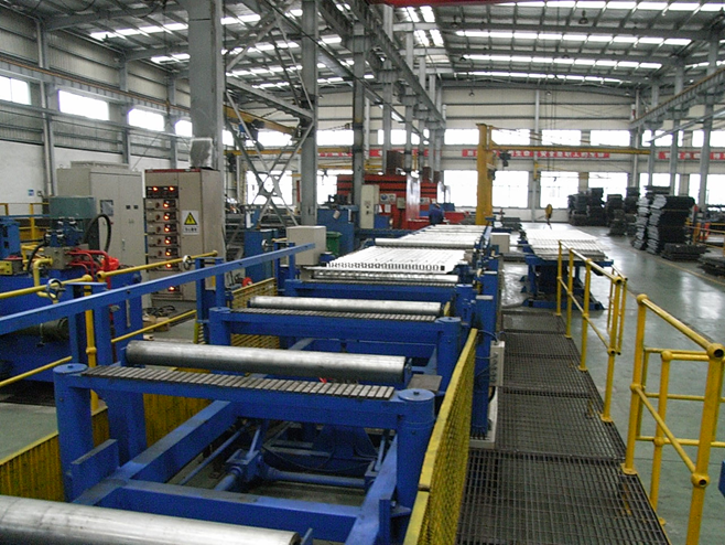 Jinan Tongda Mechanical Engineering Co., Ltd. Design and Manufacture Aluminum Grating Production Line for Webforge