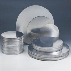 Lighting aluminium circle
