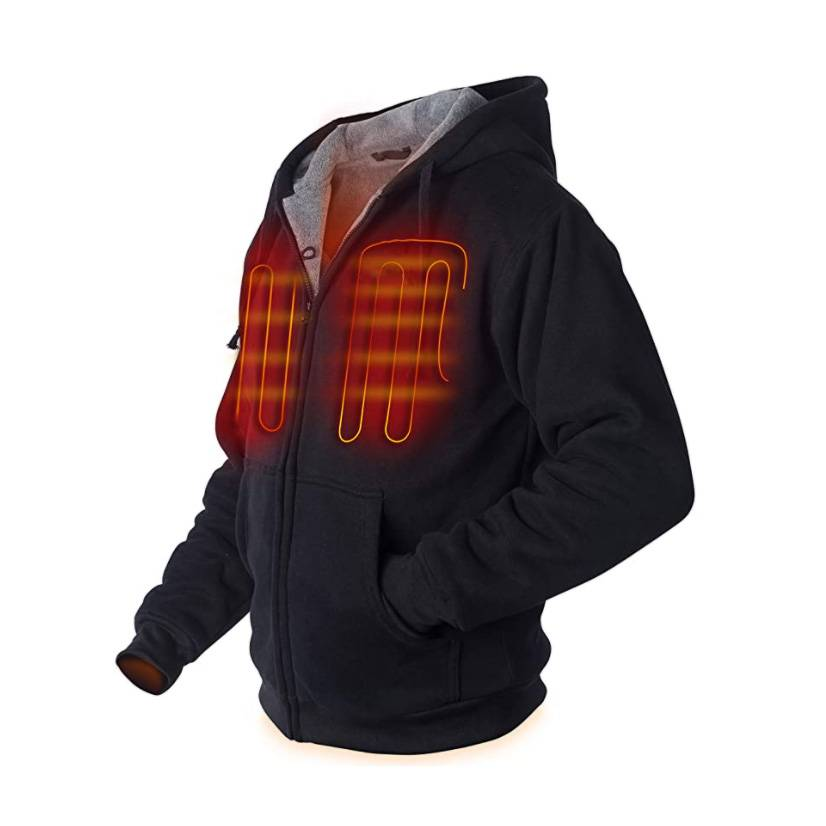Electric Warm Heating Coat Hoodies