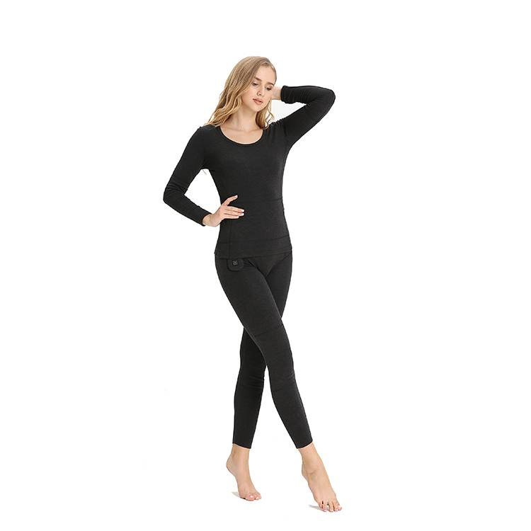 Women Keep Warming thermal Rechargeable Battery long Heated Underwear Featured Image