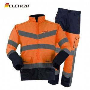 EH-J-082 Eleheat Rechargeable Air-conditioned Work Suit