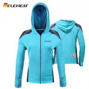 EH-J-087 Eleheat Rechargeable Air-conditioned Fishing Clothing