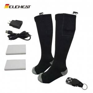 EH-HS-001 Rechargeable Heated Socks with Remote Control